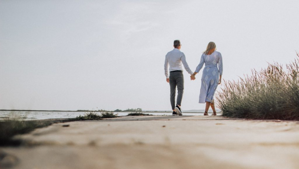 About Us: Beach Couple | Suzanne Polino REALTOR